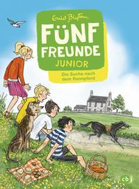 Cover: Enid Blyton Fünf Freunde Junior - Die Suche nach dem Rennpferd