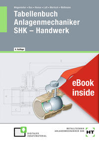 eBook inside: Buch und eBook Tabellenbuch Anlagenmechaniker SHK - Handwerk