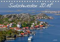 Südschweden (Tischkalender 2018 DIN A5 quer)