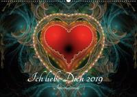 Ich liebe Dich 2019 - International (Wandkalender 2019 DIN A2 quer)