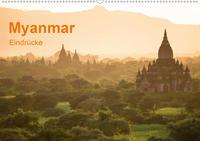 Myanmar - Eindrücke (Wandkalender 2020 DIN A2 quer)