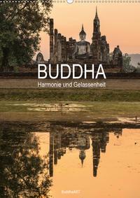 Buddha - Harmonie und Gelassenheit (Wandkalender 2020 DIN A2 hoch)
