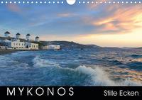 Mykonos - Stille Ecken (Wandkalender 2020 DIN A4 quer)