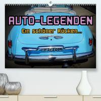 Auto-Legenden - Ein schöner Rücken... (Premium, hochwertiger DIN A2 Wandkalender 2020, Kunstdruck in Hochglanz)