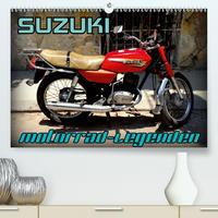 Motorrad-Legenden: SUZUKI (Premium, hochwertiger DIN A2 Wandkalender 2020, Kunstdruck in Hochglanz)