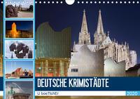 DEUTSCHE KRIMISTÄDTE (Wandkalender 2020 DIN A4 quer)