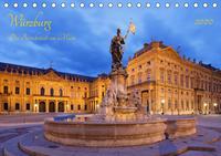 Würzburg Die Barockstadt am Main (Tischkalender 2020 DIN A5 quer)