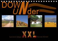 Down Under - Australiens Outback XXL (Tischkalender 2021 DIN A5 quer)