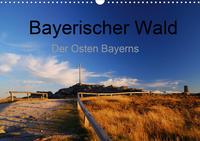 Bayerischer Wald - der Osten Bayerns (Wandkalender 2021 DIN A3 quer)