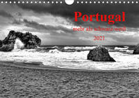 Portugal • mehr als schwarz-weiß (Wandkalender 2021 DIN A4 quer)