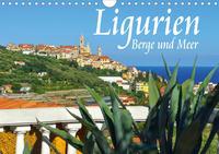 Ligurien - Berge und Meer (Wandkalender 2021 DIN A4 quer)