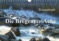 Wasserkraft - Die Bregenzer Ache (Wandkalender 2021 DIN A4 quer)