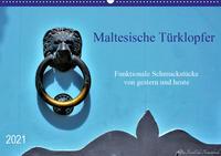 Maltesische Türklopfer (Wandkalender 2021 DIN A2 quer)