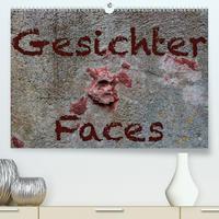 Gesichter –Faces (Premium, hochwertiger DIN A2 Wandkalender 2021, Kunstdruck in Hochglanz)
