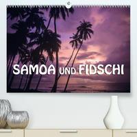Samoa und Fidschi (Premium, hochwertiger DIN A2 Wandkalender 2021, Kunstdruck in Hochglanz)