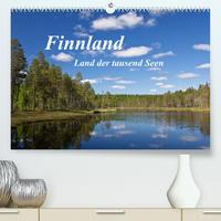 Finnland - Land der tausend Seen (Premium, hochwertiger DIN A2 Wandkalender 2022, Kunstdruck in Hochglanz)