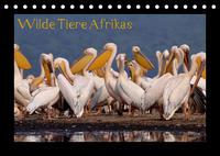 Wilde Tiere Afrikas (Tischkalender 2022 DIN A5 quer)