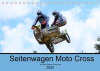 Sidecarcross 2021 (Tischkalender 2022 DIN A5 quer)
