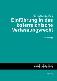 Einführung in das österreichische Verfassungsrecht
