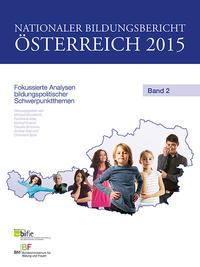 Nationaler Bildungsbericht Österreich 2015 Band 2