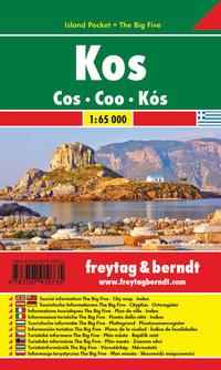 Kos, Autokarte 1:65.000, Island Pocket + The Big Five