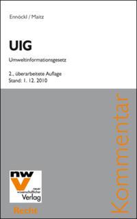 UIG – Umweltinformationsgesetz