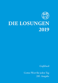 Die Losungen 2019. Deutschland / Losungen 2019