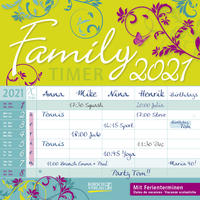 Family Timer - Floral 2021
