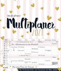 Multiplaner - Time for glamour 2021