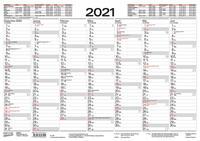 Tafelkalender A3 2021