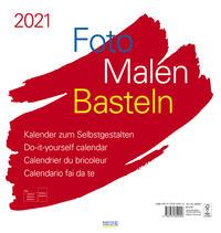 Foto-Malen-Basteln Bastelkalender weiß groß 2021