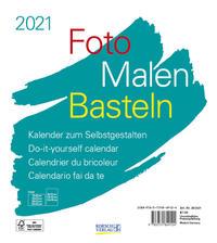 Foto-Malen-Basteln Bastelkalender weiß 2021