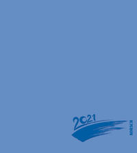 Foto-Malen-Basteln Bastelkalender blau 2021