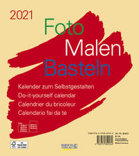 Foto-Malen-Basteln Bastelkalender beige 2021