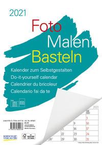 Foto-Malen-Basteln A4 weiß Notice 2021