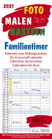 Foto-Malen-Basteln Familientimer 2021