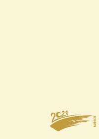 Foto-Malen-Basteln Bastelkalender A5 chamois 2021