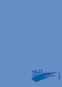 Foto-Malen-Basteln Bastelkalender A5 blau 2021