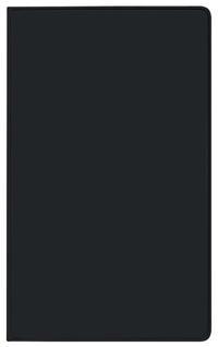 Taschenkalender Modus XL geheftet PVC schwarz 2021