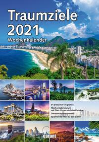 Wochenkalender Traumziele 2021