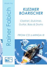KLEZMER BOARISCHER für Klarinette, Hackbrett, Gitarre, Bass und Schlagzeug