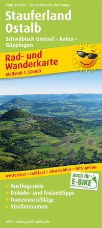 Stauferland, Ostalb, Schwäbisch Gmünd - Aalen - Göppingen