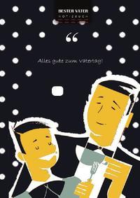 Notizbuch / Glücklicher Vatertag, bester Vater Schreiben Sie in Notizbuch, 180 Seiten, gepunktete Linien, Ringbindung (Buch 4)