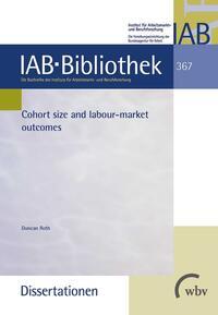 Cohort size and labour-market outcomes