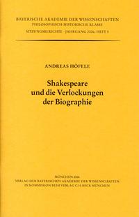 Shakespeare und die Verlockungen der Biographie