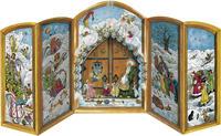 Adventskalender 'Weihnachtspforte'