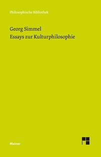 Essays zur Kulturphilosophie
