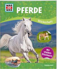 WAS ist WAS-Stickerheft - Pferde - Cover