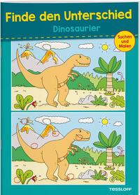 Finde den Unterschied - Dinosaurier