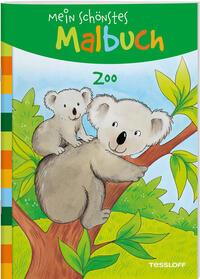 Mein schönstes Malbuch. Zoo